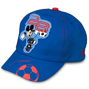 Personalized Soccer Mickey Mouse Cap for Toddler Boys