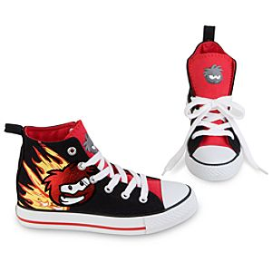High Top Club Penguin Sneakers for Boys