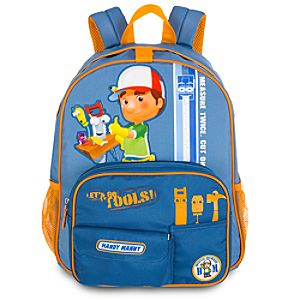 Personalized Handy Manny Backpack for Boys