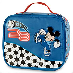 Soccer Mickey Mouse Lunch Tote