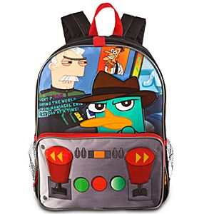 Personalized Agent P Phineas and Ferb Backpack