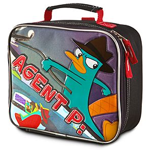 Agent P Phineas and Ferb Lunch Tote