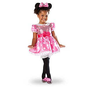 Infant and Toddlers Minnie Mouse Costume -- Pink