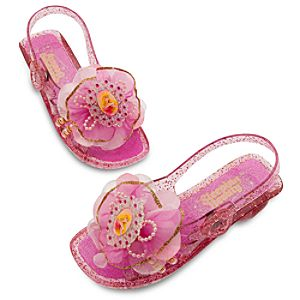 Light-Up Sleeping Beauty Shoes