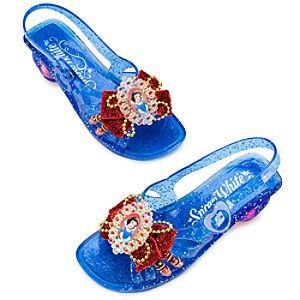 Light-Up Snow White Shoes