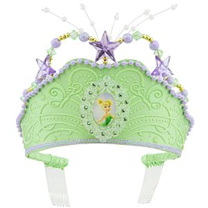 Glitter Tinker Bell Crown for Girls
