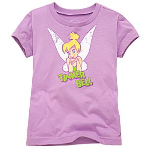 Mother and Daughter Vintage Tinker Bell Tee for Girls