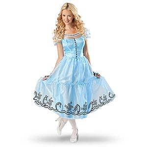 Womens Alice in Wonderland Costume