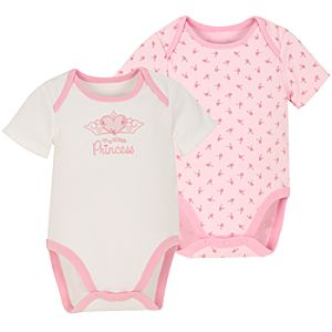 My Little Princess Bodysuits -- 2-Pc.