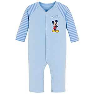 Oh Boy! Mickey Mouse Coverall for Infants