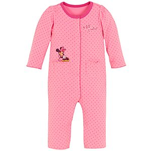 Polka Dot Minnie Mouse Coverall for Infants