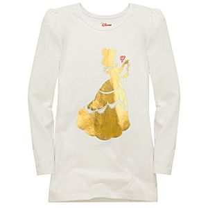 Long-Sleeve Silhouette Belle Tee