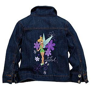 Monogrammed Tinker Bell Denim Jacket