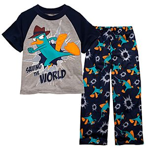 Phineas and Ferb Agent P PJ Set for Boys