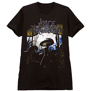 Mushrooms Alice in Wonderland Tee for Men