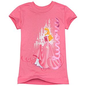 Organic Aurora Tee for Girls