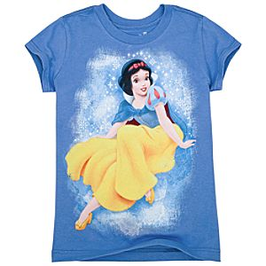 Organic Snow White Tee for Girls