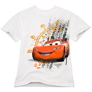 Organic Speedometer Lightning McQueen Tee for Boys