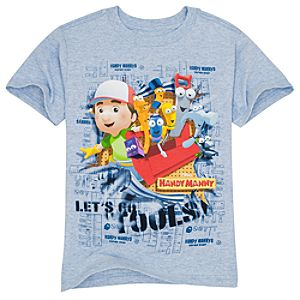 Organic Blueprint Handy Manny Tee for Boys