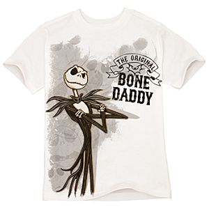 Organic Bone Daddy Jack Skellington Tee for Boys