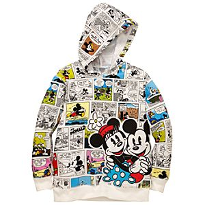 Hoodie Comics Minnie and Mickey Mouse Sweatshirt