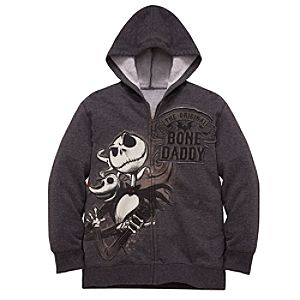 Bone Daddy Jack Skellington Hoodie Jacket