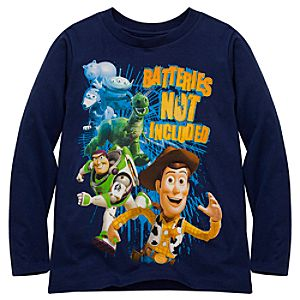 Organic Long Sleeve Toy Story 3 Tee
