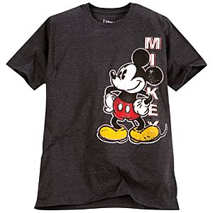 Pop Art Mickey Mouse Tee for Men