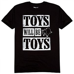 Organic Toys Will Be Toys Toy Story Tee for Adults