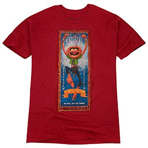 Organic Animal Muppet Tee for Men