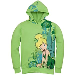 Tinker Bell Hoodie Jacket for Women