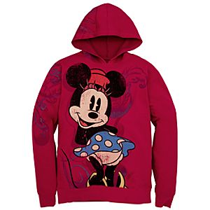 Minnie Mouse Hoodie Jacket for Women
