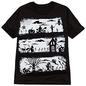 Organic Mickey Mouse and Friends Halloween Tee
