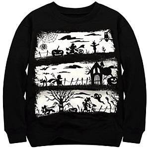 Mickey Mouse and Friends Halloween Sweatshirt