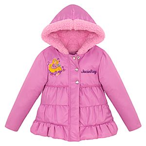 Personalized Puffy Tangled Rapunzel Jacket