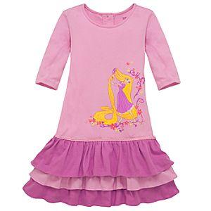 Ruffled Tangled Rapunzel Dress
