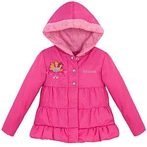 Personalized Disney Princess Puffy Jacket