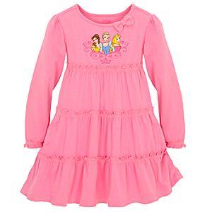 Ruffled Disney Princess Dress