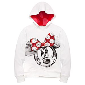 Sparkle Minnie Mouse Hoodie