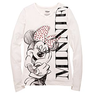 Long-Sleeve Sparkle Minnie Mouse Collection
