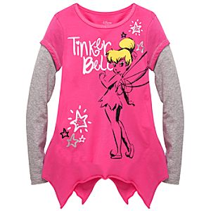 Double-Up Tinker Bell Tee