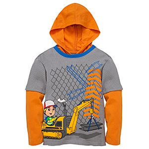 Double-Up Hoodie Handy Manny Tee