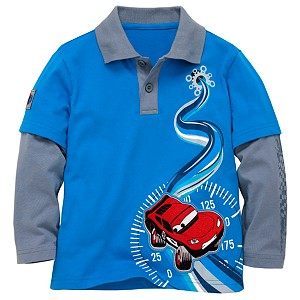 Double-Up Disney Cars Polo Shirt
