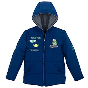 Personalized Buzz Lightyear Puffy Jacket