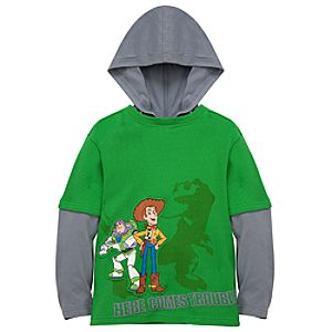 Double-Up Hoodie Toy Story 3 Tee