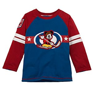 Reversible Long-Sleeve Mickey Mouse Tee