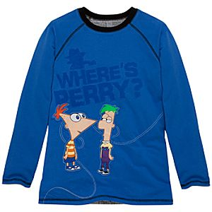 Reversible Long-Sleeve Phineas and Ferb Tee