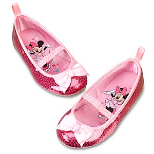Sequinned Minnie Mouse Shoes