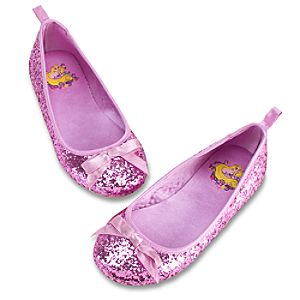 Glitter Tangled Rapunzel Shoes