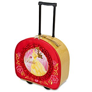 Rolling Glitter Belle Luggage
